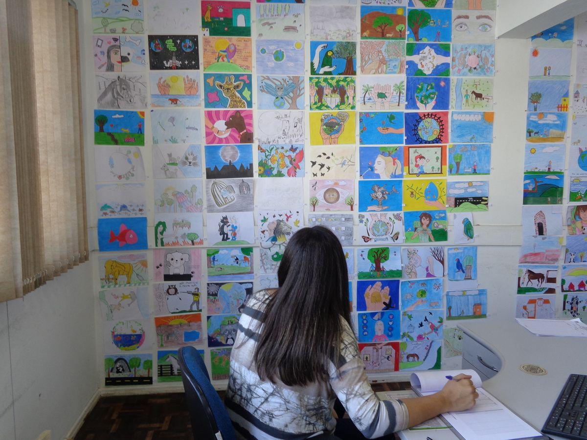 Selecionados Os Desenhos Do Calendario Ecologico 2018 Prefeitura